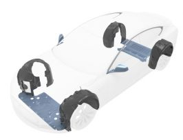 1201 - wheel arch liners