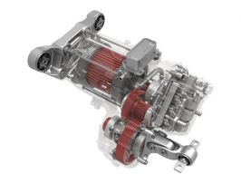 3901 - front drive unit assembly